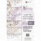 Prima Marketing ペーパーパッド A4 30枚 -Lavender Frost 632618