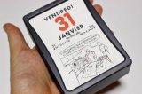 予約【DM便発送可】フランス輸入 日めくりカレンダー2020 LECAS