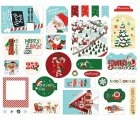 Carta Bella Country Santa's Workshop ephemera 33/Pkg -Icons