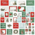 Simple Stories Snap! カードパック 48/Pkg -Country Christmas