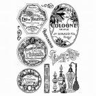 Crafty Individuals Stamp -Vintage Perfumery