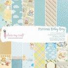 Dress My Crafts  Paper Pad 6インチ 24/Pkg -Precious Baby Boy