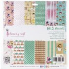 Dress My Craft Paper Pad 24/Pkg -Little Miracle 12インチ