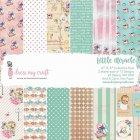 Dress My Craft  Paper Pad 6インチ 24/Pkg -Little Miracle