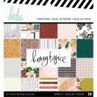Heidi Swapp 6インチペーパーパッド 36/Pkg -Honey & Spice