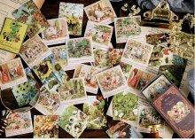 【紙箱入り】布目風特殊紙シール -童話の世界