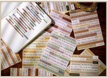 使える!異種素材の文字ステッカー(選べる6種)