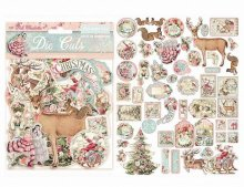 Stamperia Die-Cuts -Pink Christmas(チップボード)
