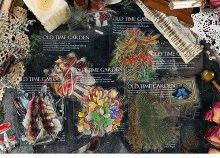 森の自然シリーズ PET素材シール 40枚