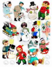 Pretty Little Studio ダイカット -Winter Fun (pack)