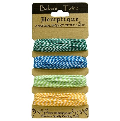 bakers twine トワイン 4色セット ラッピングひも 通販