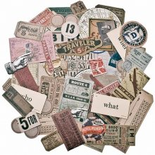 Tim Holtz Idea-Ology Ephemera Pack 63 Pieces Expedition<img class='new_mark_img2' src='//img.shop-pro.jp/img/new/icons32.gif' style='border:none;display:inline;margin:0px;padding:0px;width:auto;' />