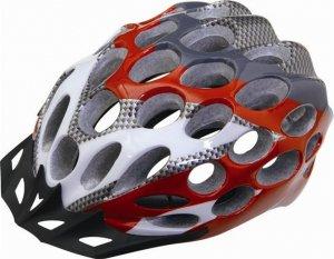 自転車ヘルメット♪頭の大きさ:56-62♪個性的なカッティングが オシャレ度UP♪/st130523-6-tk14