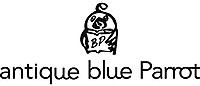 antique blue Parrot KYOTO