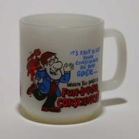 glasbake マグカップ