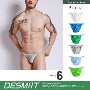 DESMIIT デスミット 競パン シャイニー サイドストリング ビキニ 020