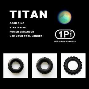 TITAN タイタン シリコンリング 1P 103 ペニスリング グランスリング