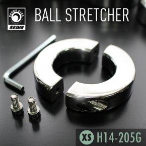 【XSサイズ】521MN ラウンドアイズ ボールストレッチャー ねじ式 159 ステンレス メタル コックリング 睾丸