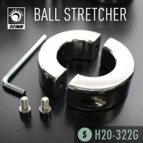 【Sサイズ】 521MN ラウンドアイズ ボールストレッチャー ねじ式 159 ステンレス メタル コックリング 睾丸