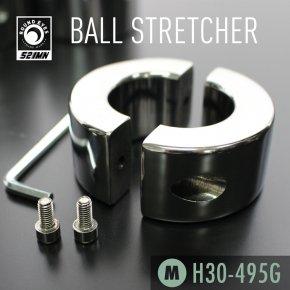 【Mサイズ】521MN ラウンドアイズ ボールストレッチャー ねじ式 159 ステンレス メタル コックリング 睾丸