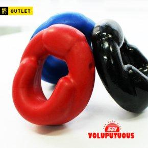 【訳あり】  ヴォラプチュアス TPE ルートリング174 コックリング ペニスリング