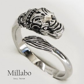 CHILL FACTOR グランスリング Millabo ミラボ ハーフスパイラルタイプ 715 ペニスリング コックリング