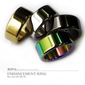 【1D】DEEP×6 コックリング エンハンスメントリング グランスリング 008 ステンレス メタル