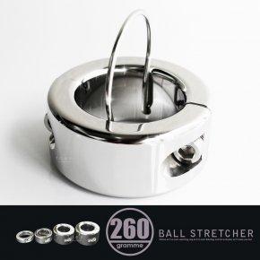 ラウンディッシュ ボールストレッチャー 260g メタル コックリング 079M ステンレス 睾丸