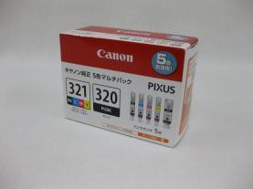 Canon(キャノン)BCI-321+320 5色 マルチパックインク 純正品