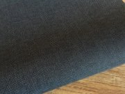 シミリ・キュイール ツイード インディゴブルー<br>約23.5cmx33cm