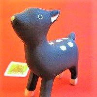 ぽれぽれ動物 バンビ(ばんび 鹿 シカ しか) /動物/ポレポレ動物/木製/雑貨/置物/ハンドメイド/手作り