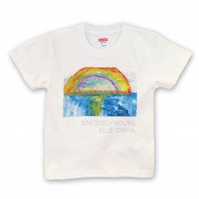 「希望の海」大宮エリー Tシャツ(キッズサイズ)