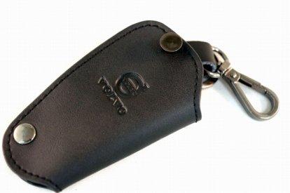 【ネコポスOK】ボルボ専用 レザーキーケース Cタイプ