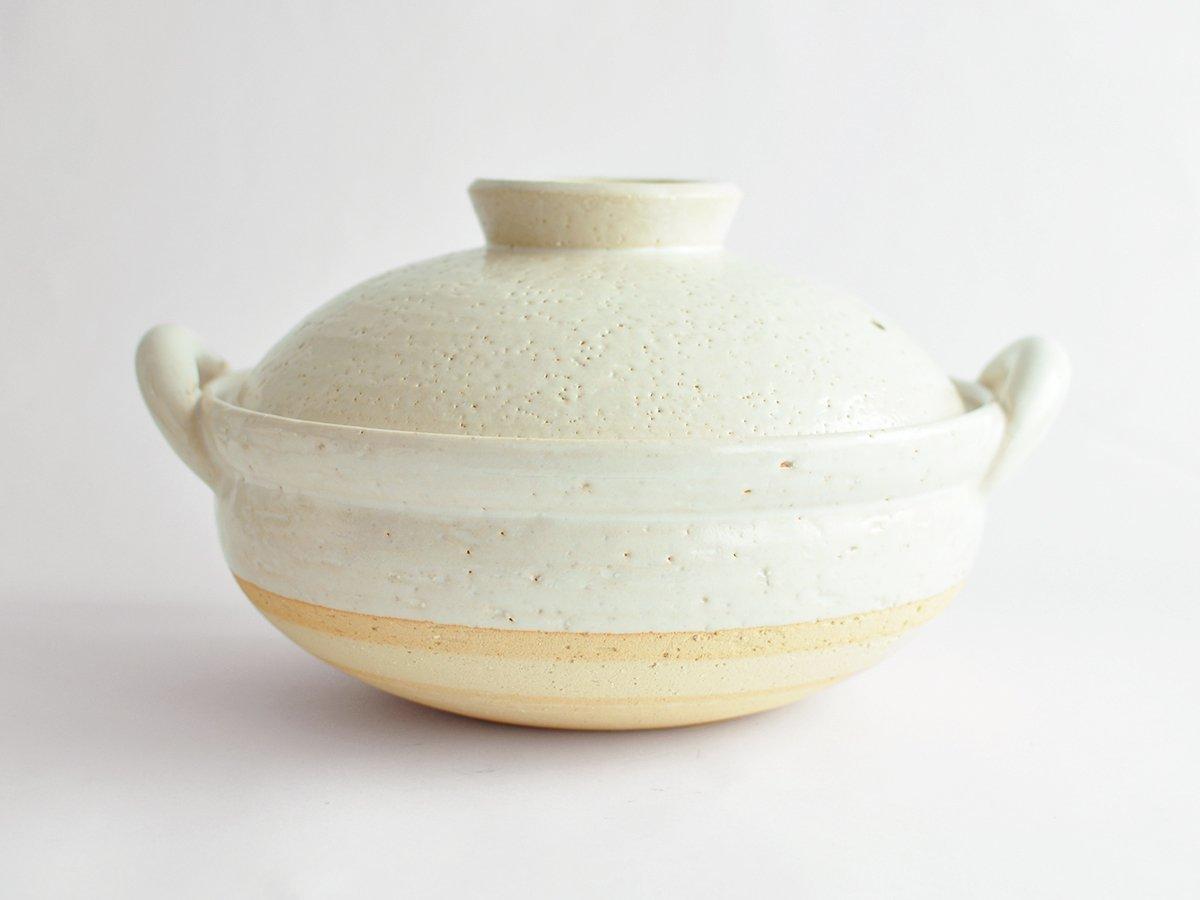 ヘルシー蒸し鍋 中 白