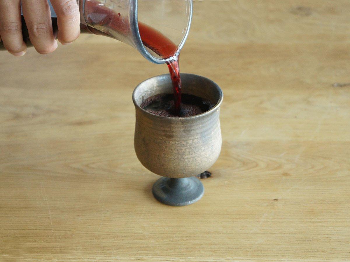 吉田丈さんのワインカップ