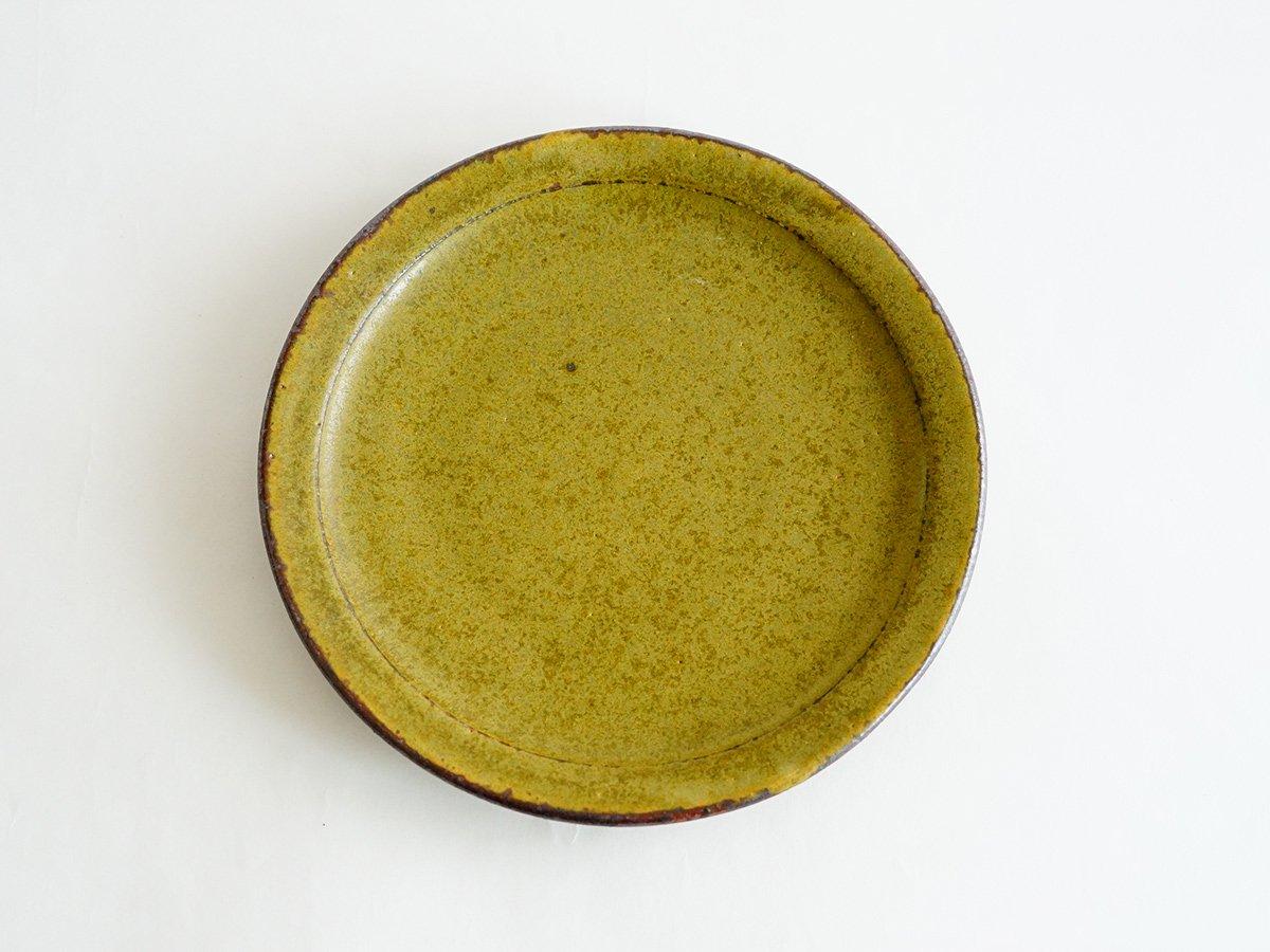 平皿 18cm 深緑 1,944円