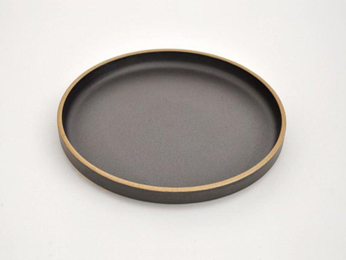 プレート 18.5cm ブラック HASAMI PORCELAIN
