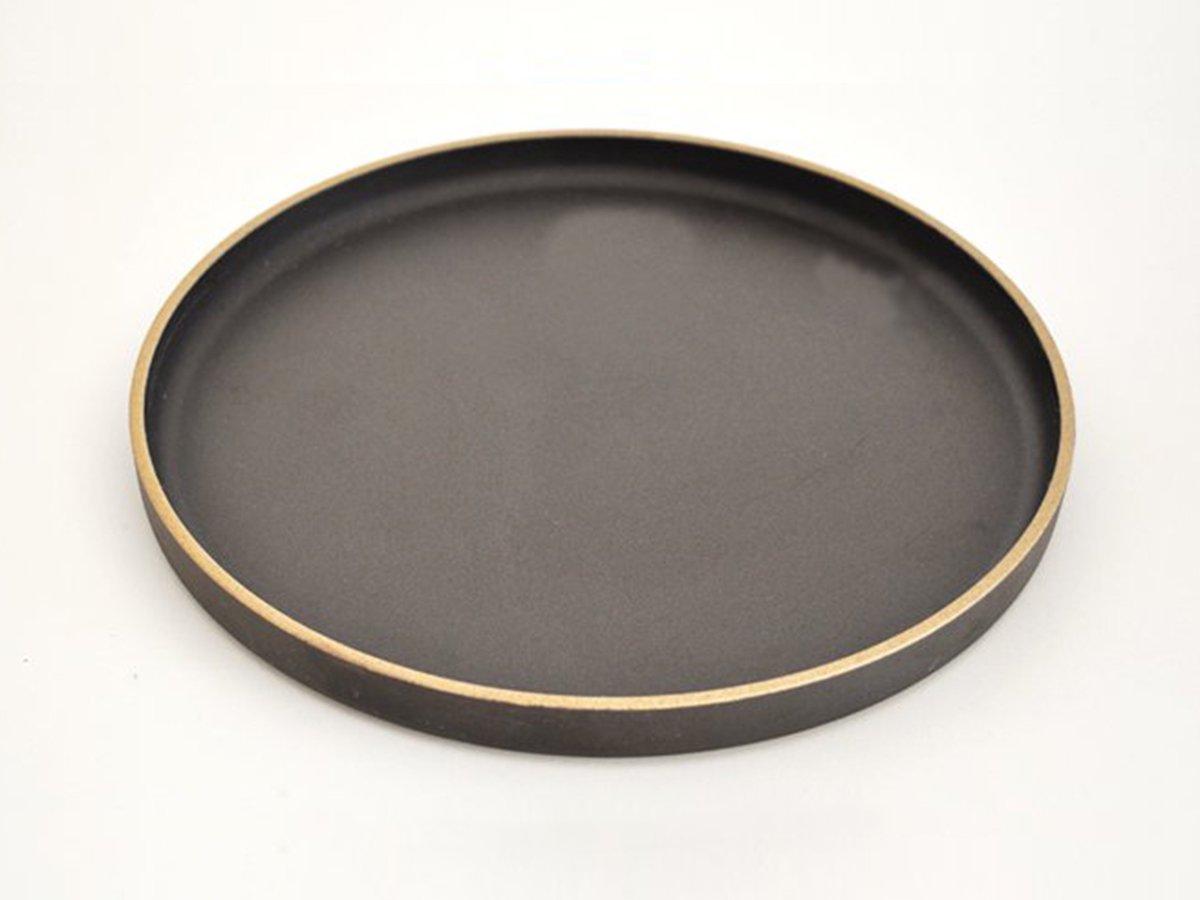 プレート 25.5cm ブラック HASAMI PORCELAIN