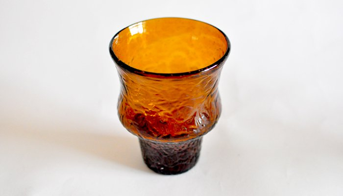 アイスカットグラス ブラウン