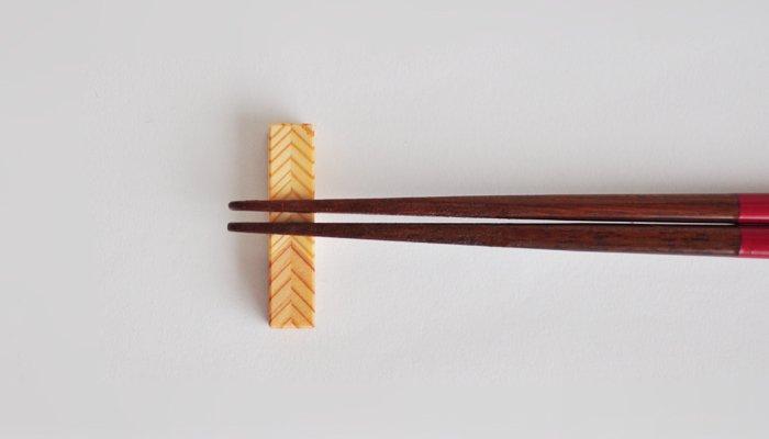 杉の箸置き 4個セット