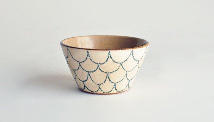 色絵網目鉢 | 笠間焼 庄司工房