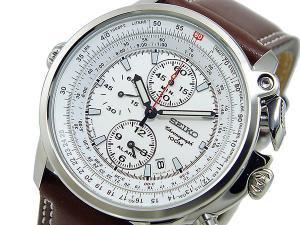 セイコー SEIKO パイロット クロノグラフ アラーム 腕時計 SNAB71P1