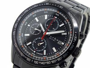 フルボデザイン ソーラー アラーム クロノグラフ 腕時計 FS402BBK