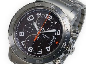 エルメス HERMES クリッパークロノメカニック 自動巻 メンズ 腕時計CP29414354963
