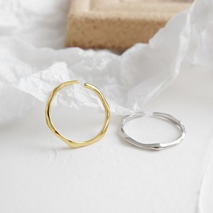silver 925 ring twig