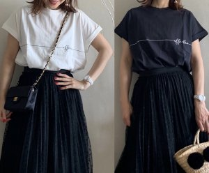 ヴィンテージ抜け感ロゴTシャツ