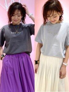 seeyouロゴTシャツ