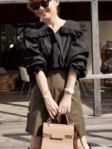 Pretty Blouse(ブラック)<img class='new_mark_img2' src='https://img.shop-pro.jp/img/new/icons1.gif' style='border:none;display:inline;margin:0px;padding:0px;width:auto;' />