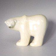 Gustavsberg Lisa Larson skansen polar bear / グスタフスベリ リサ・ラーソン 動物園 シロクマ(L)