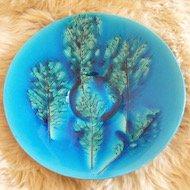 Arabia Toini Muona leaf's plate /  アラビア トイニ・ムオナ 葉 プレート